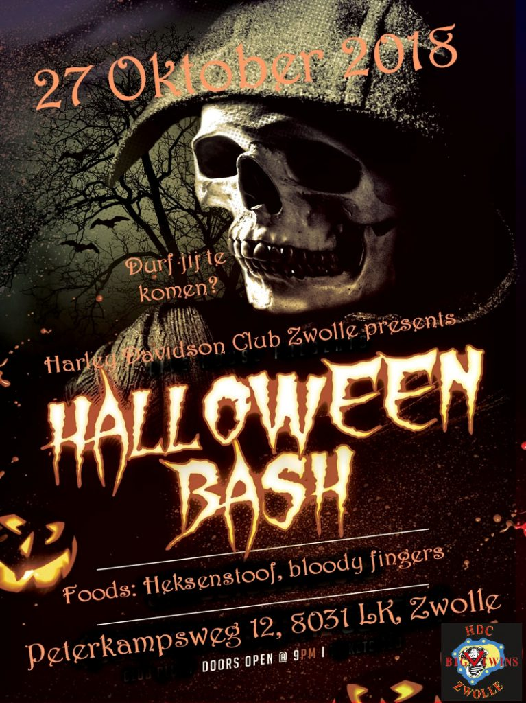 HDCZ Halloween party 2018